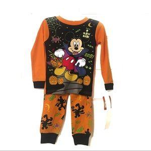 Disney Mickey Mouse tight fit pajamas